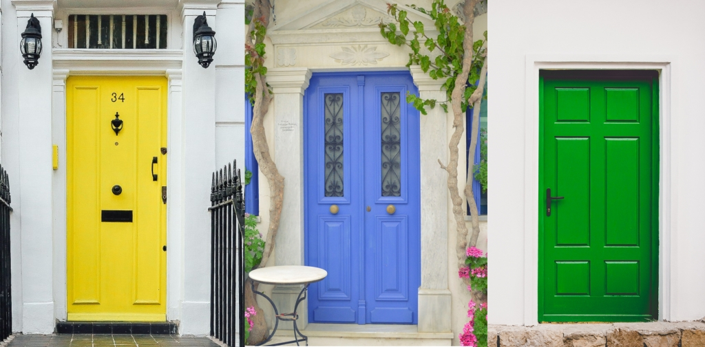 Your front door is the first thing people see when coming to your home and the last thing they see when leaving. The right colour sets the tone and says a ... & How to Choose the Right Colour for your Front Door | Geranium Blog